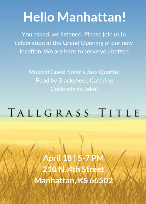 title insurance Archives - Tallgrass Title